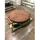 Presto Electric Scissor Lift, Rated 1500 lbs., Rotary Table, Foot Switch Control, RIGGING FEE - $50