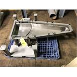 """LGH Stainless Steel Vibratory Feed Tray, 48"""" Length, RIGGING FEE - $50"""