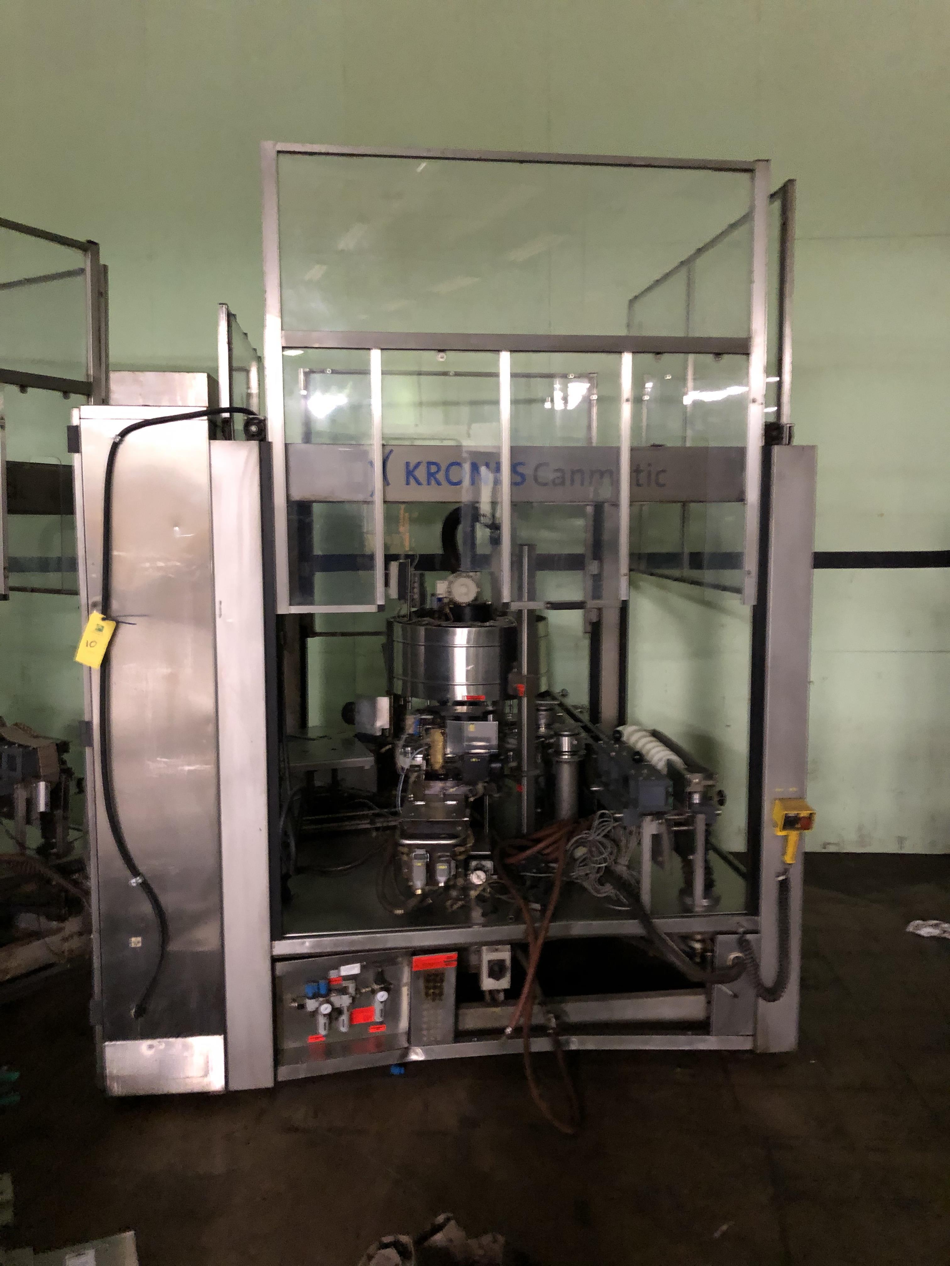 Krones Canmatic Labeler, Machine #073-Q84, RIGGING FEE - $1750