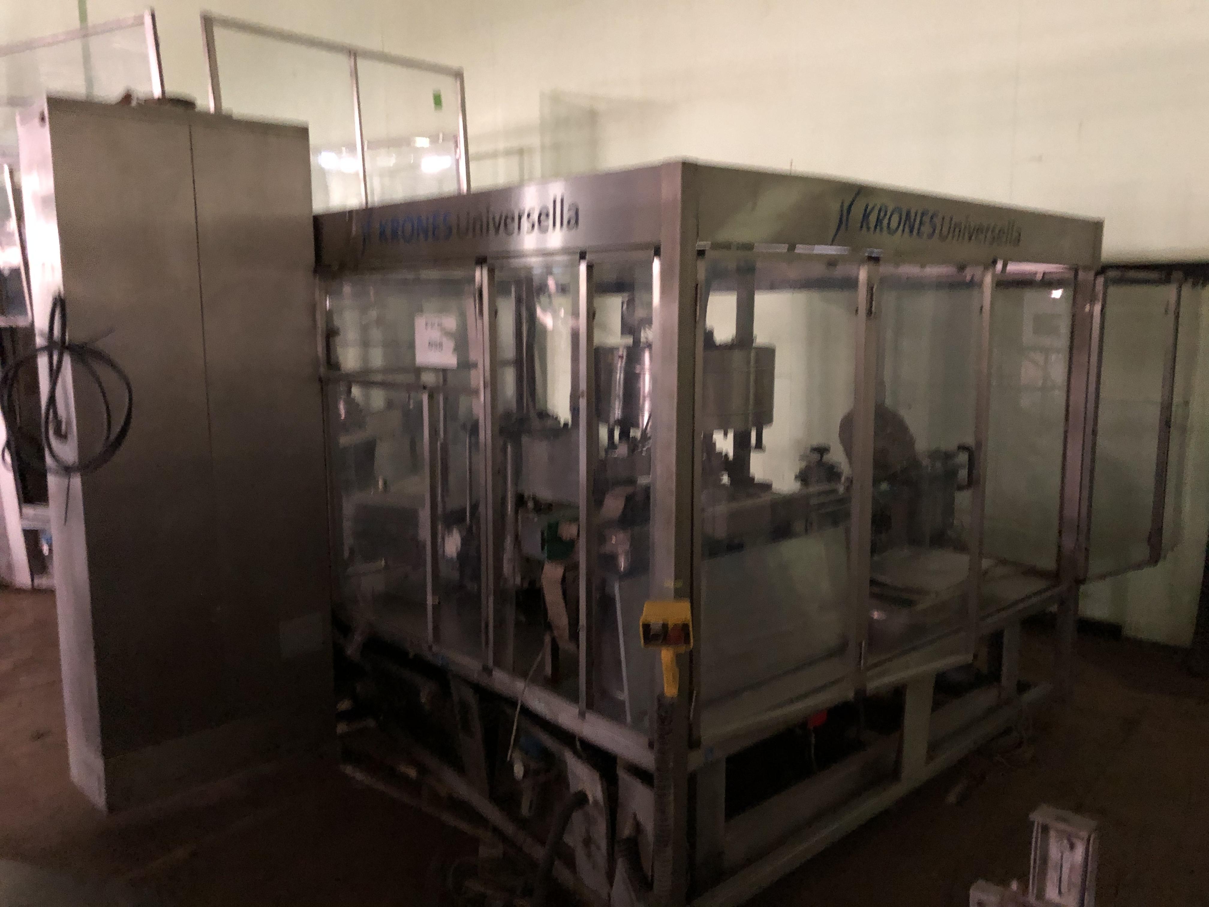Krones Universella Labeler, Machine #723-E86, RIGGING FEE - $1750 - Image 6 of 6