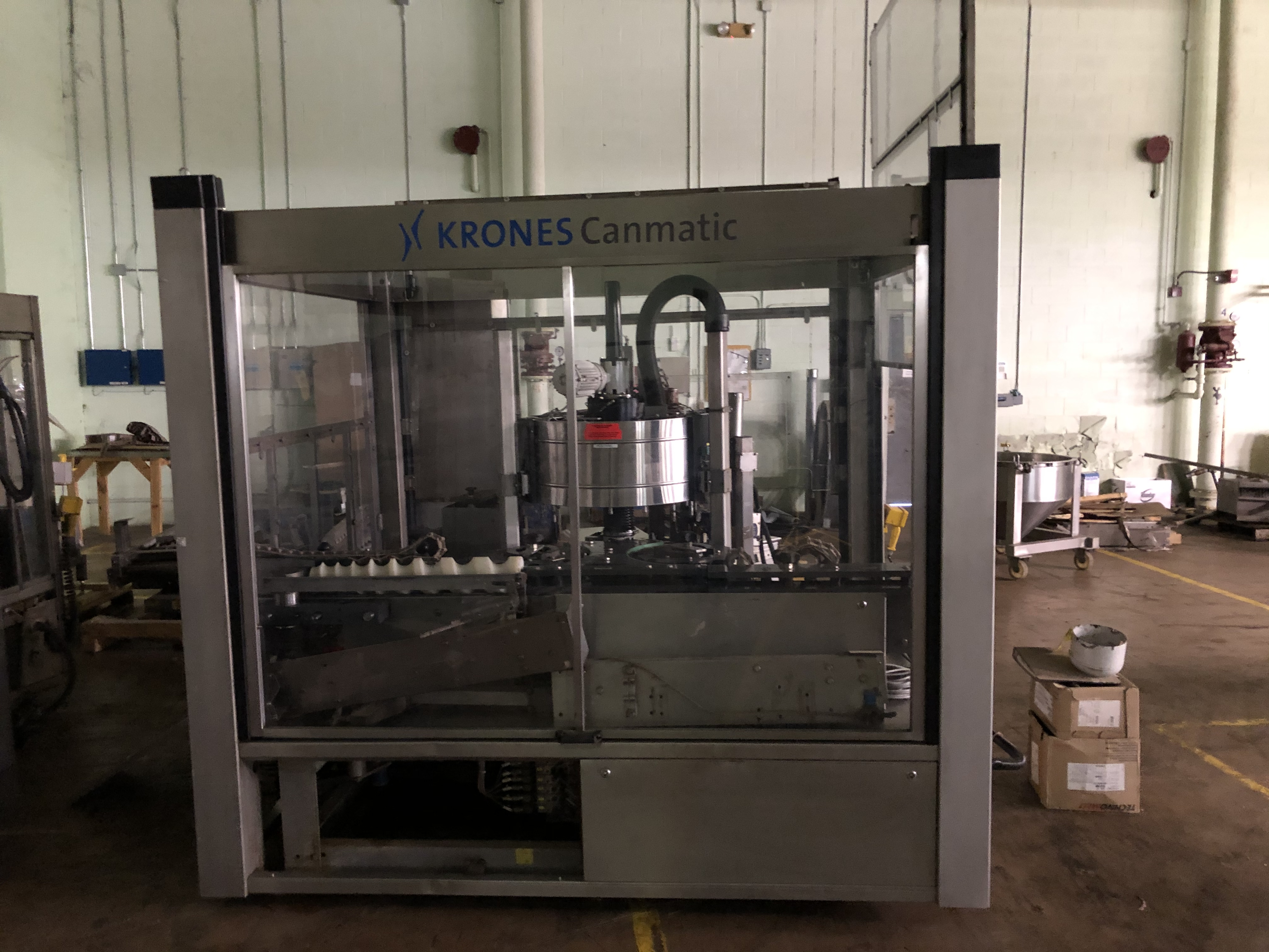 Krones Canmatic Labeler, Machine #073-Q83, RIGGING FEE - $1750 - Image 4 of 5