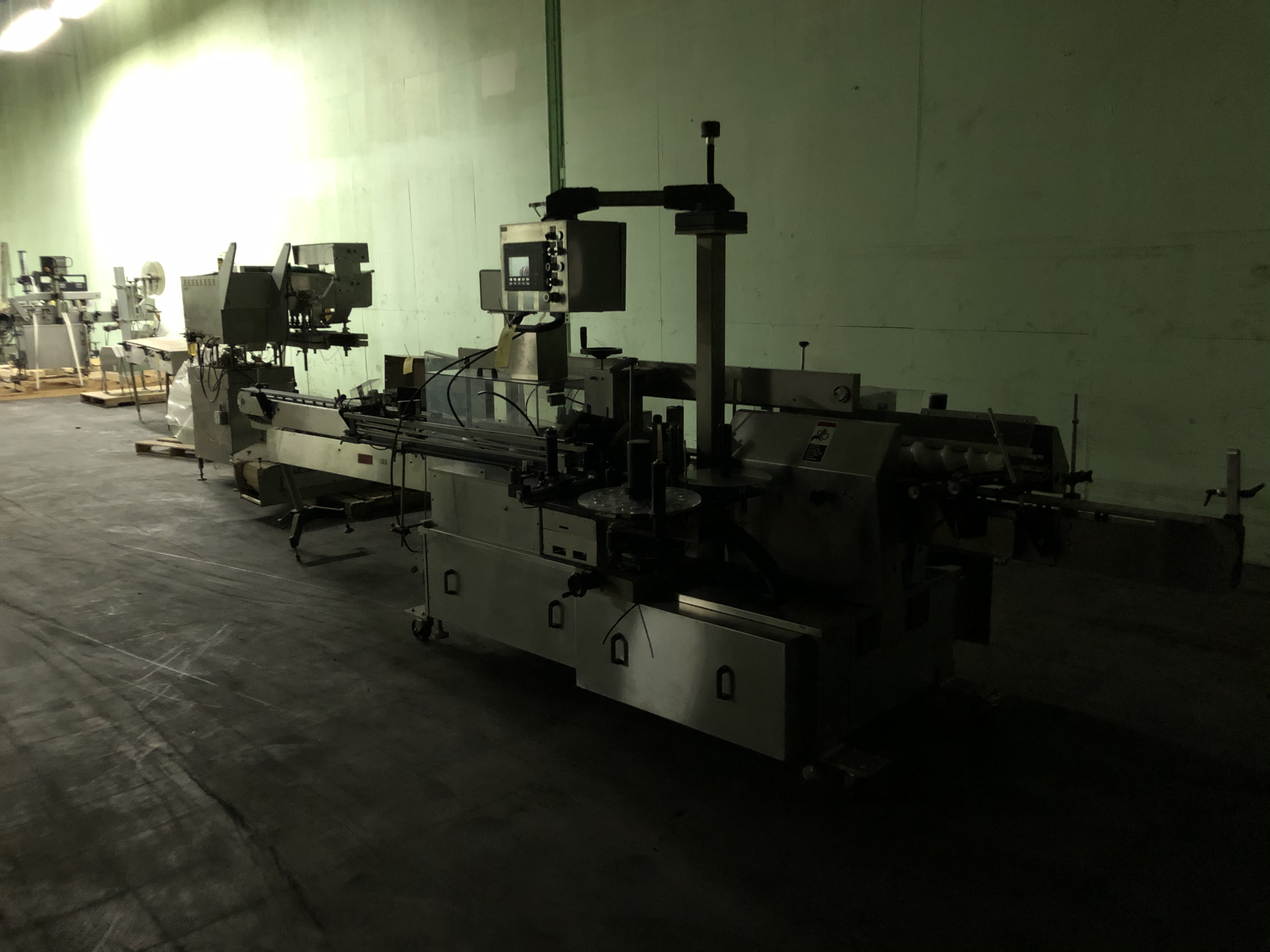 New Jersey Machine Model #34RLDBO-235-M98CO Packaging System, Allen Bradley Panelview 550 Control - Image 2 of 5
