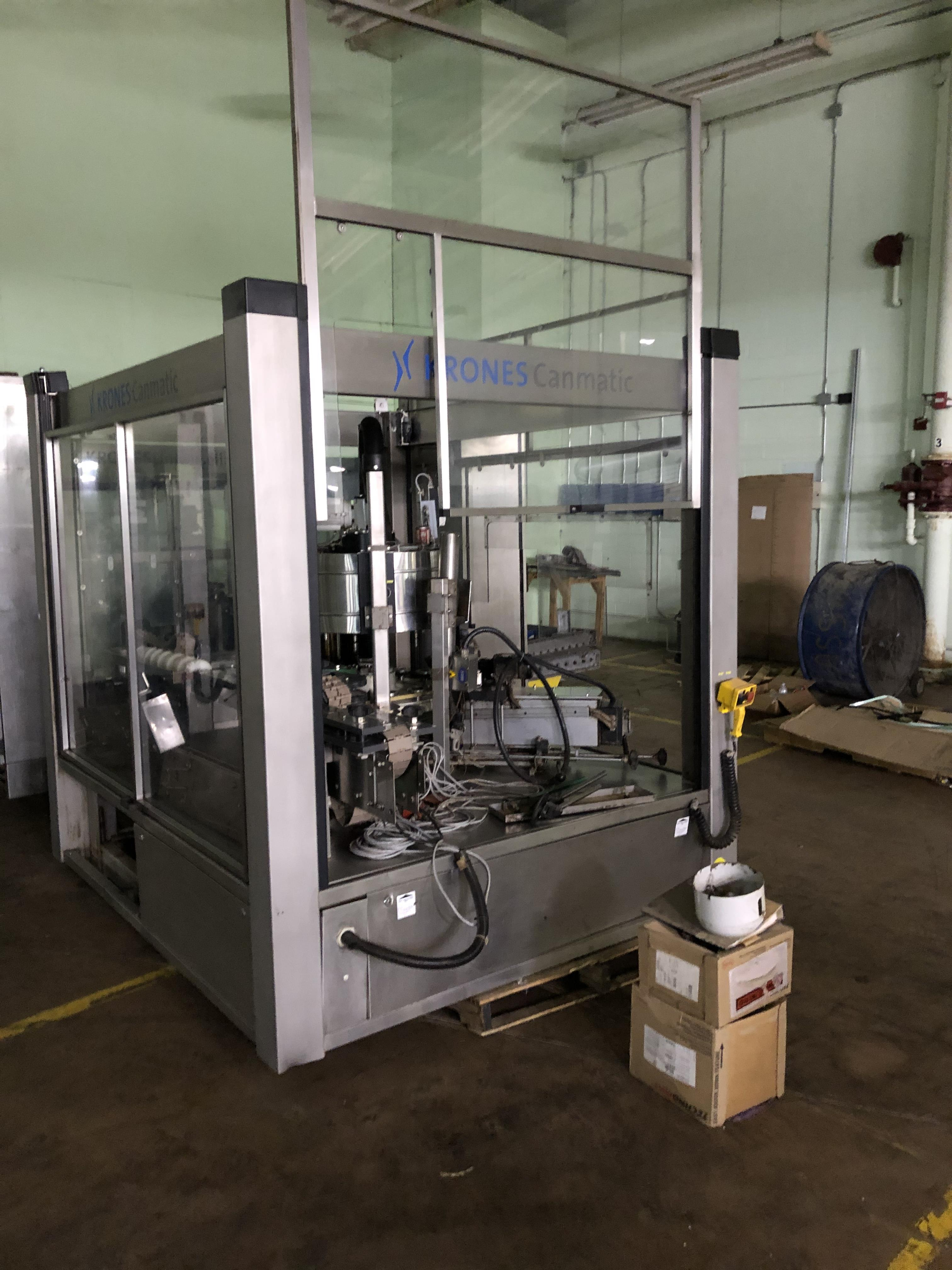 Krones Canmatic Labeler, Machine #073-Q83, RIGGING FEE - $1750 - Image 3 of 5