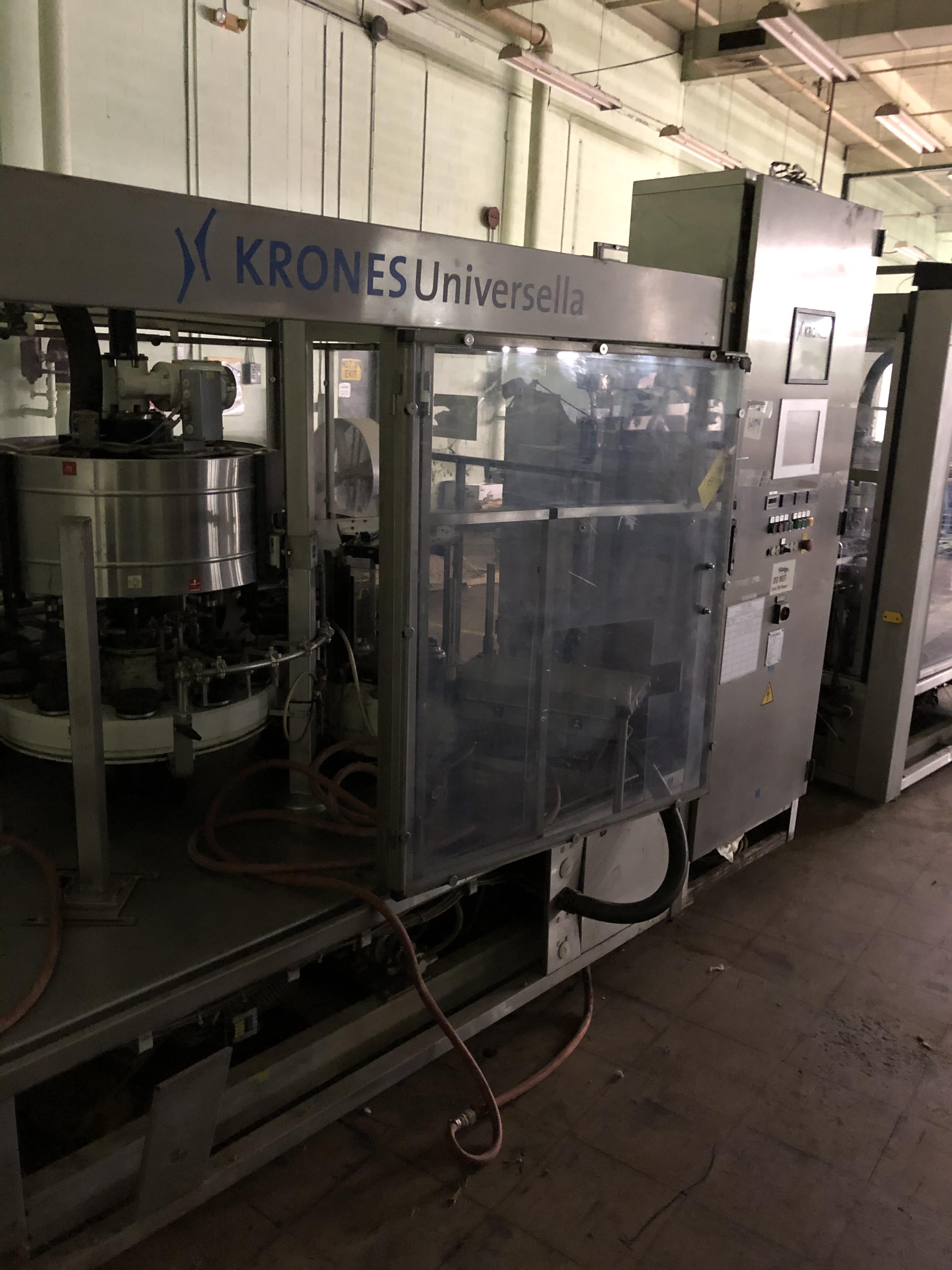 Krones Universella Labeler, Machine #723-E86, RIGGING FEE - $1750 - Image 5 of 6