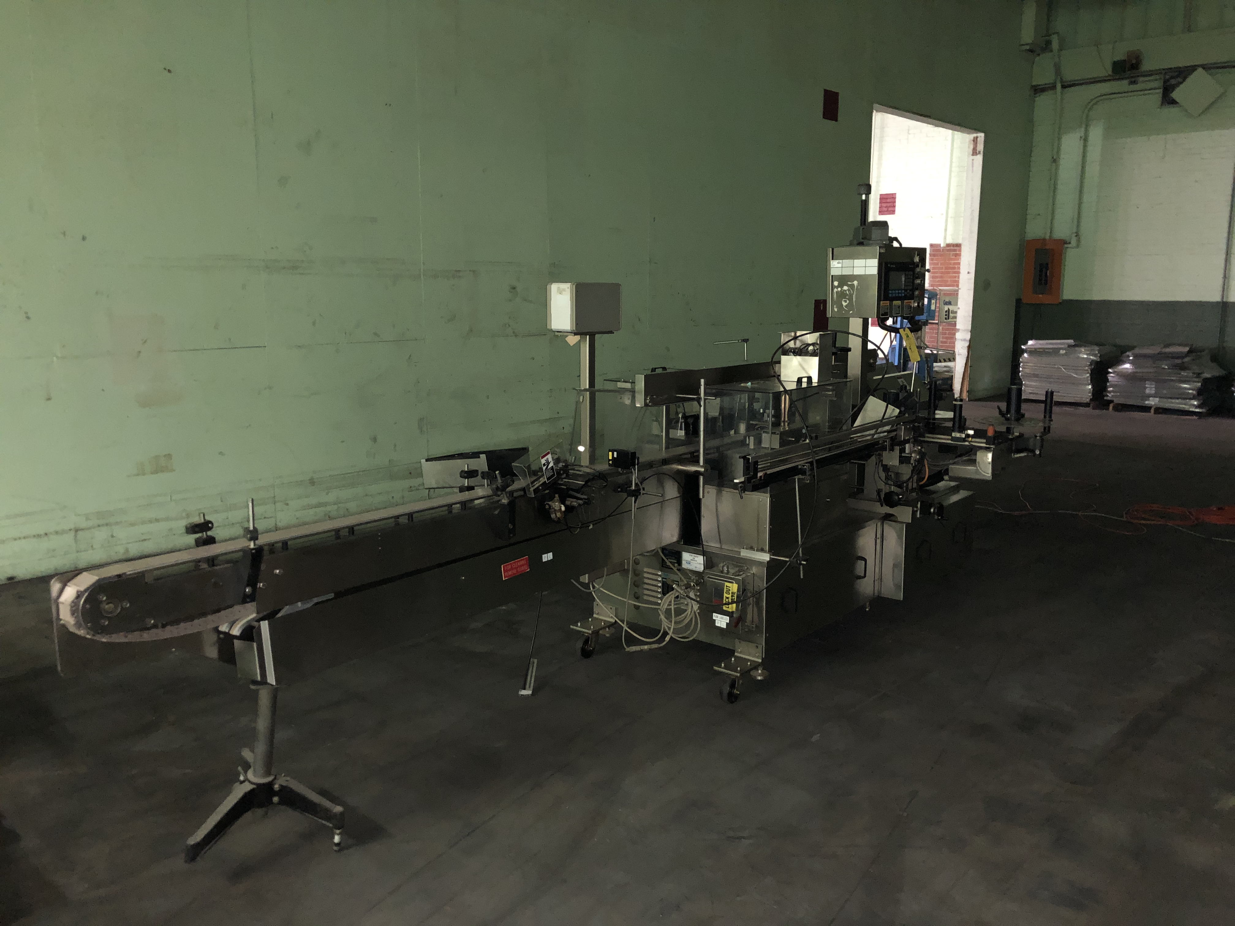 New Jersey Machine Model #34RLDBO-235-M98CO Packaging System, Allen Bradley Panelview 550 Control - Image 3 of 5