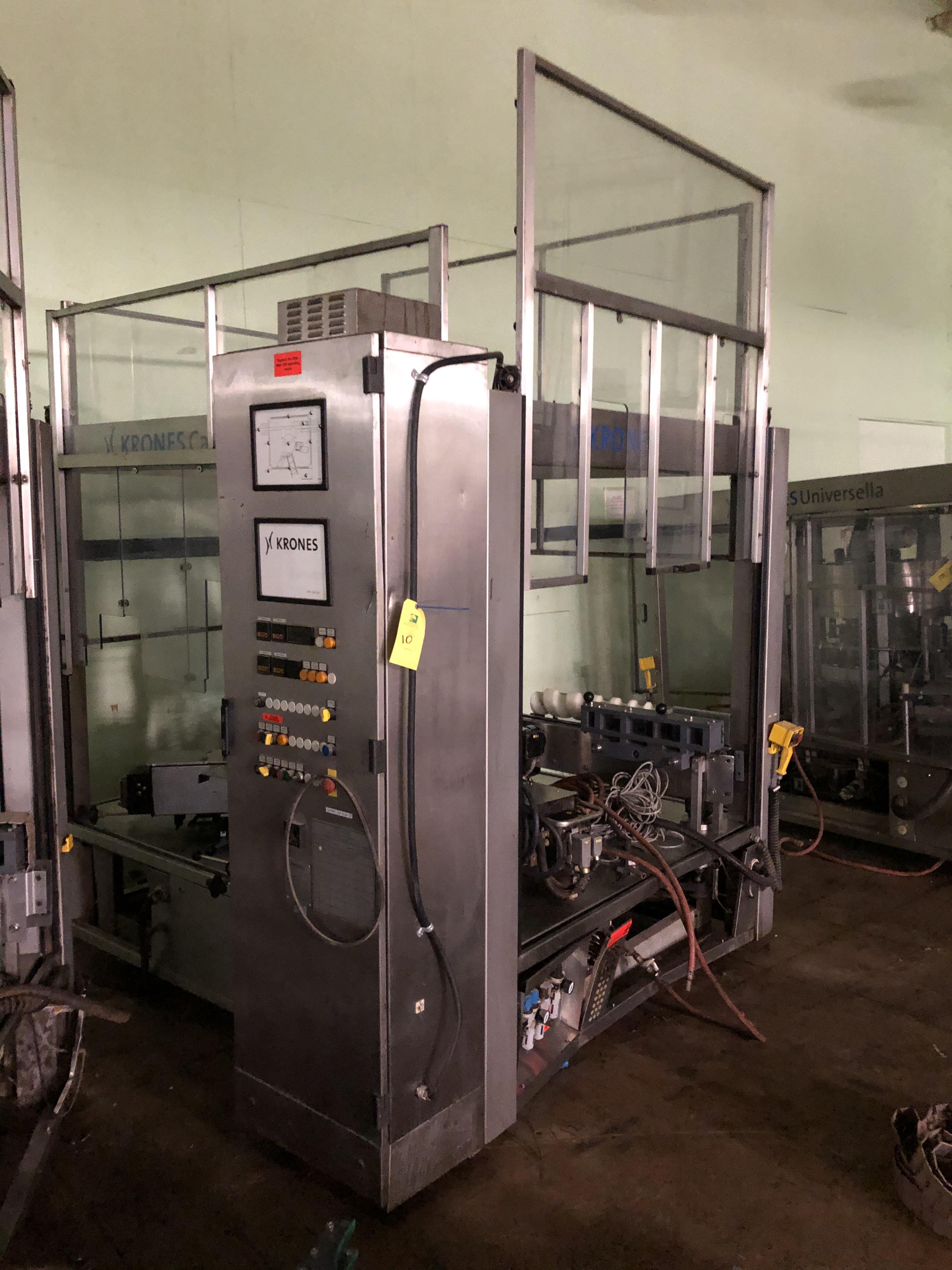 Krones Canmatic Labeler, Machine #073-Q84, RIGGING FEE - $1750 - Image 3 of 4