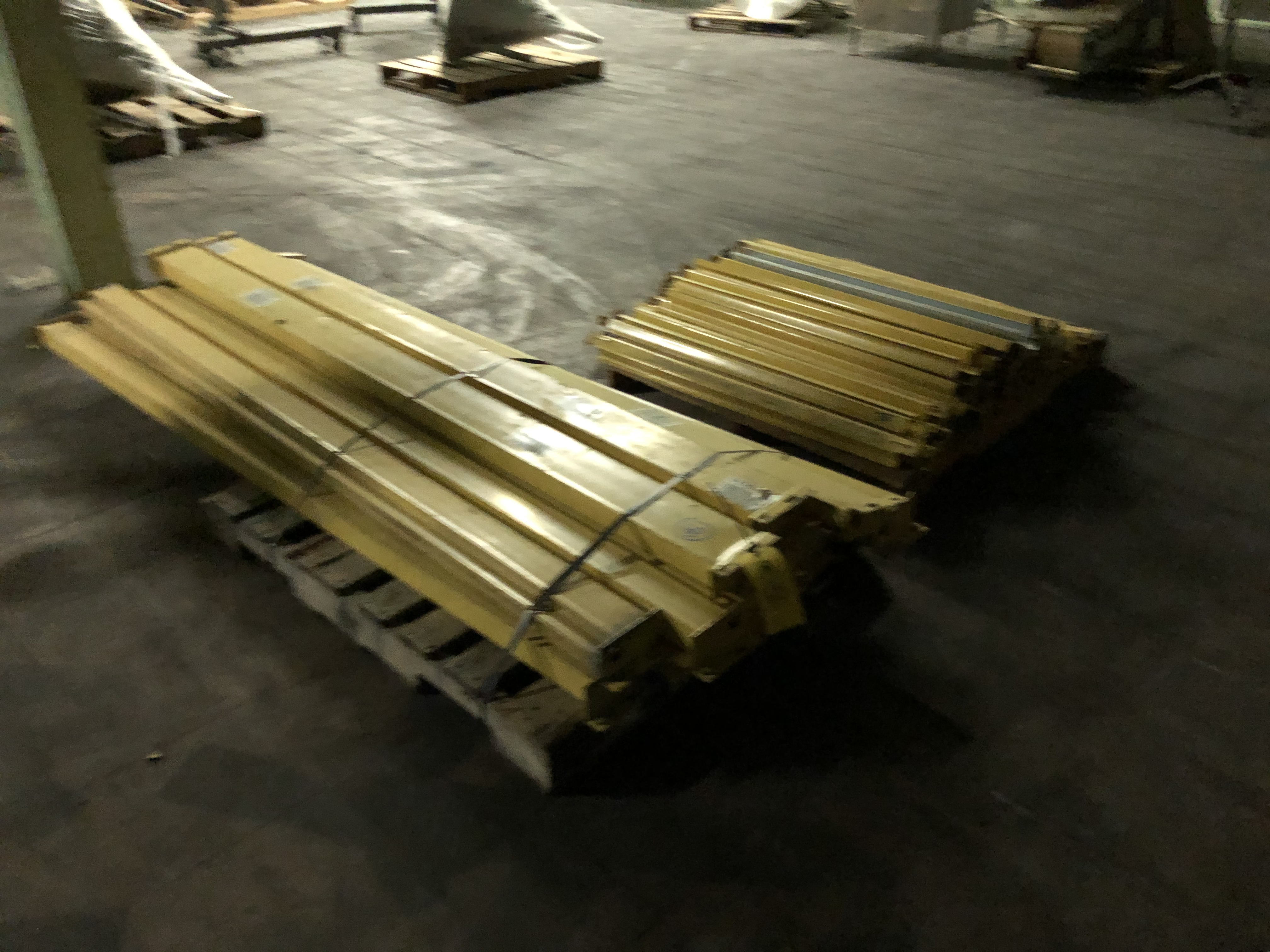 "Pallet Rack Components Consisting of (13) 8' Length Beams, Assorted 42"" Supports, (5) 20' Uprights"