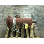 "Heavy Tank W/Flanges, 12"" Diameter x 36"" Top - Bottom, RIGGING FEE - $50"