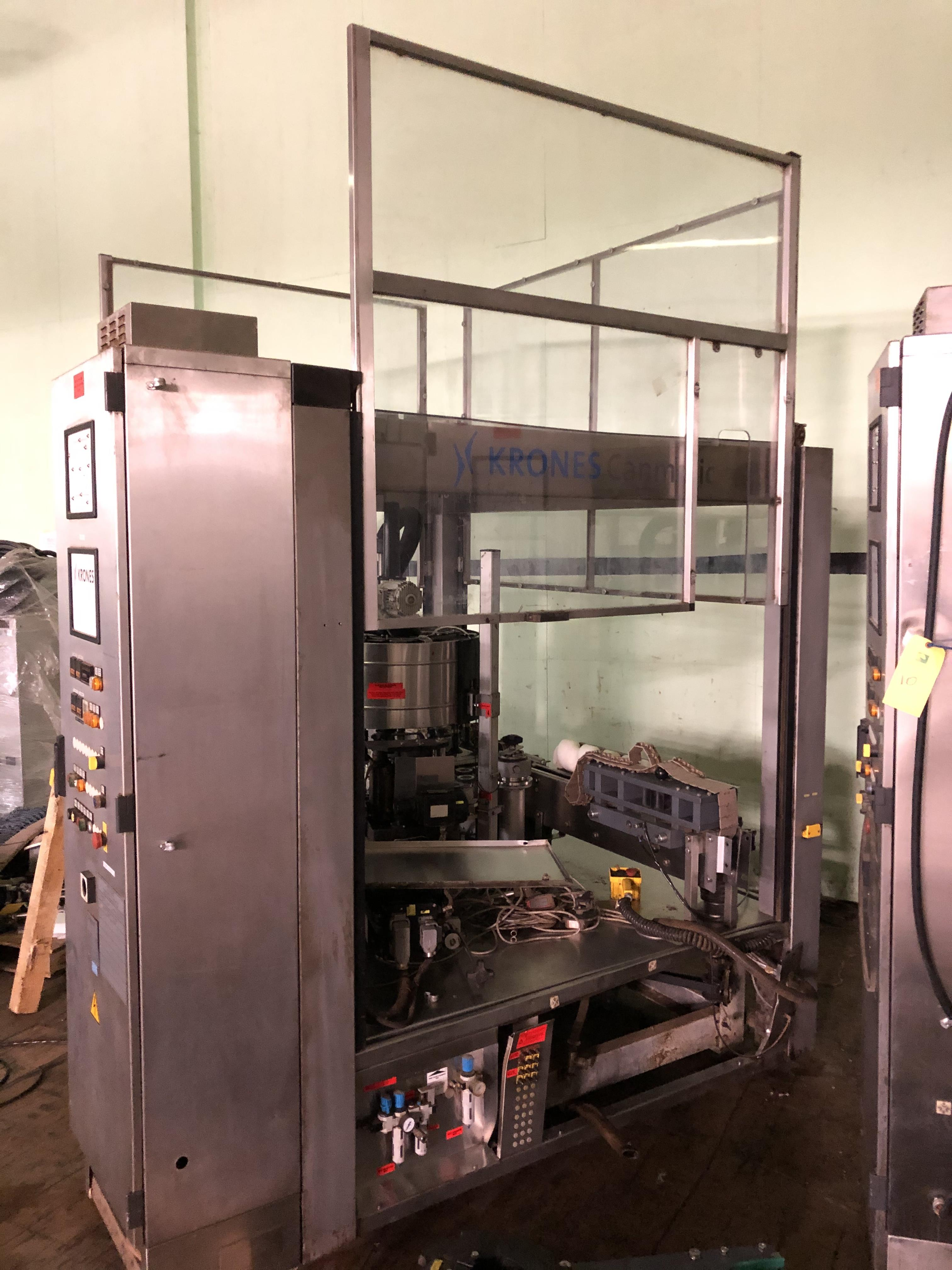 Krones Canmatic Labeler, Machine #073-Q82, RIGGING FEE - $1750 - Image 2 of 3