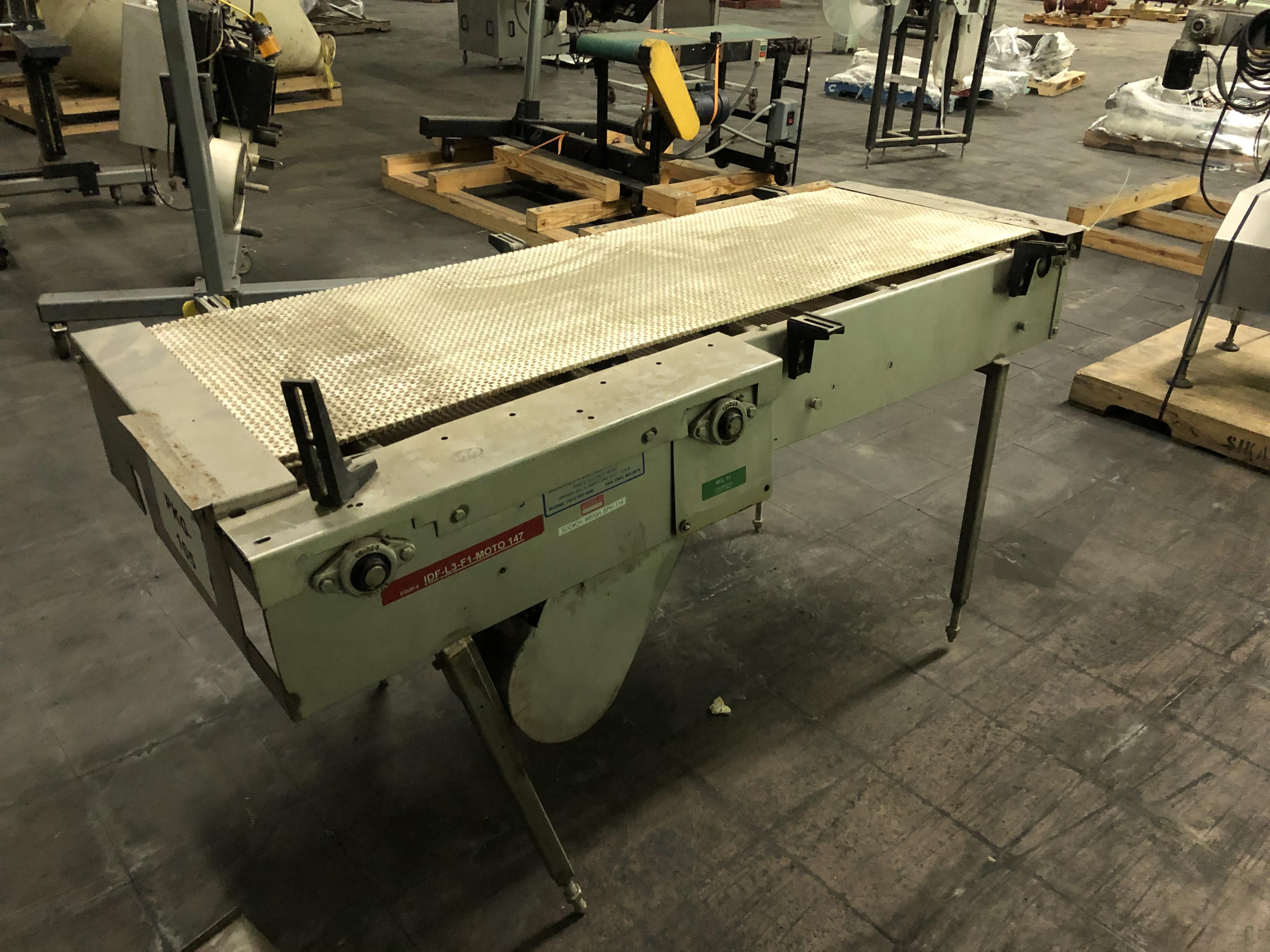 "Conveyor - 21"" Wide Belt x 72"" Length, RIGGING FEE - $75 - Image 2 of 2"