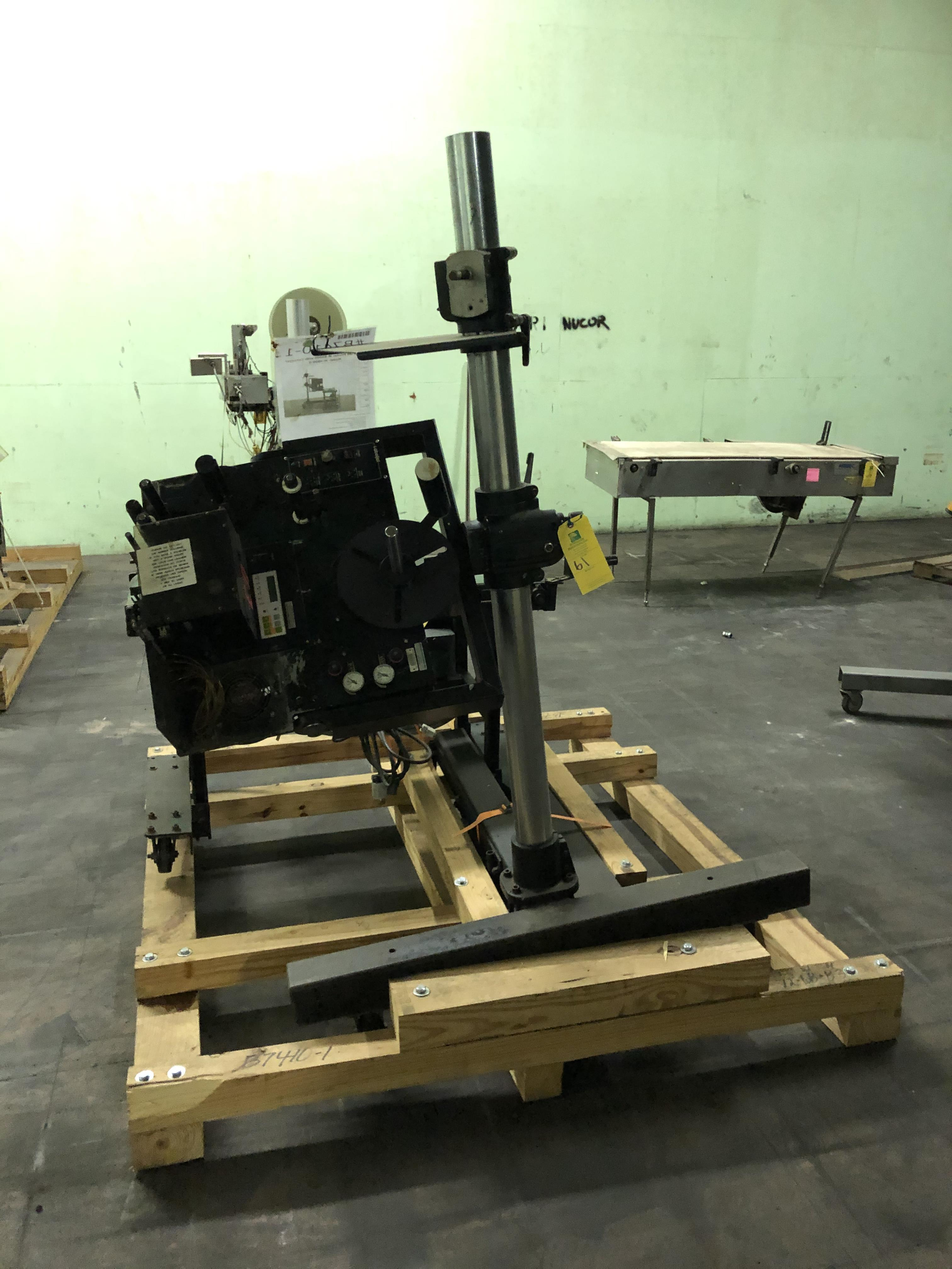 Label Jet Model #8400-S Printer, Includes Conveyor, RIGGING FEE - $175
