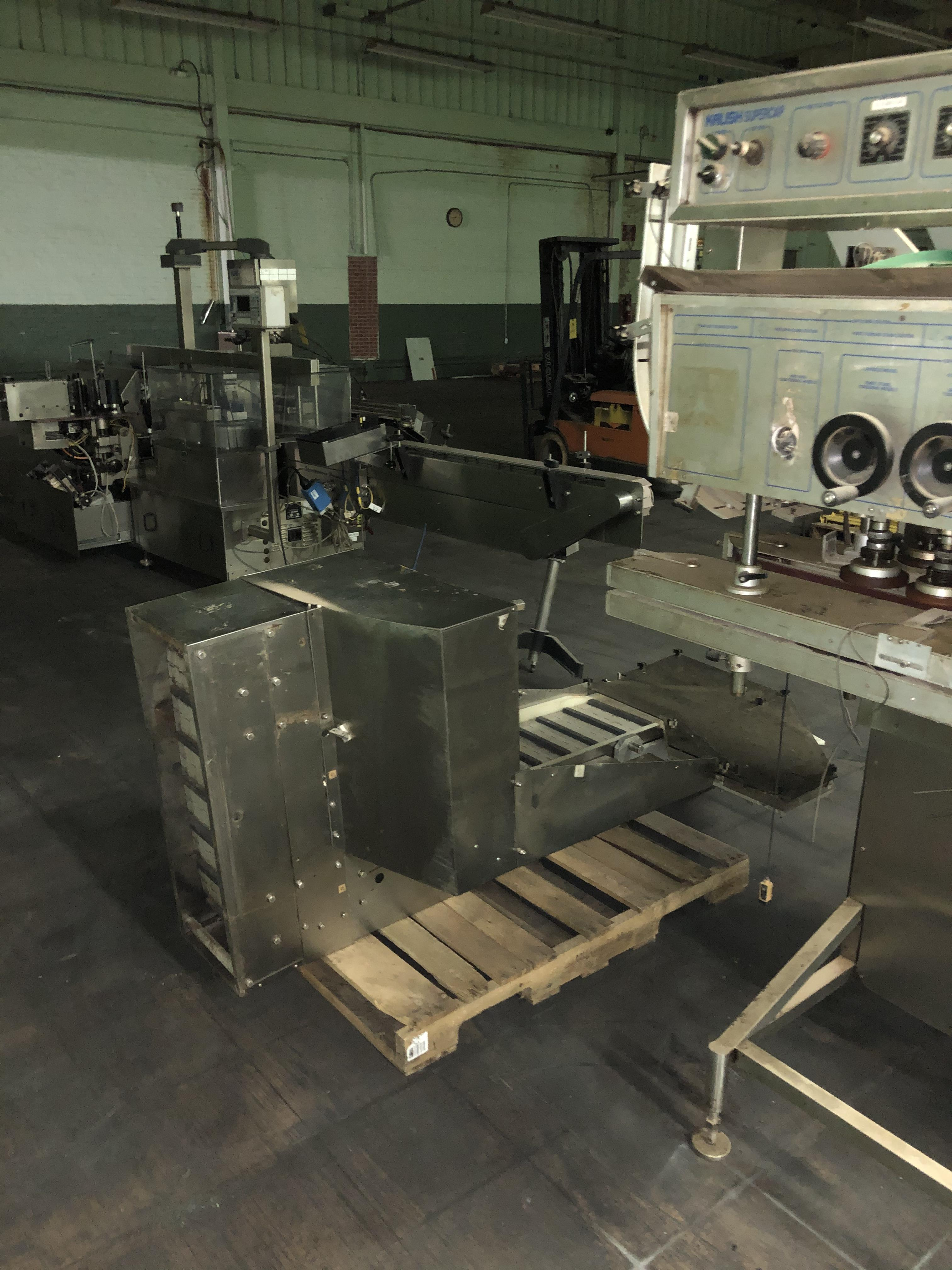 Kalish Model #5010 Supercap Capper, SN 0310, Includes Conveyor Feed, RIGGING FEE $450 - Image 6 of 6