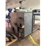 "Vertical Blender Silo/Hopper Carbon Steel 60"" x 60"" x 84"" Top-Bottom, Steel Leg Base, RIGGING FEE -"