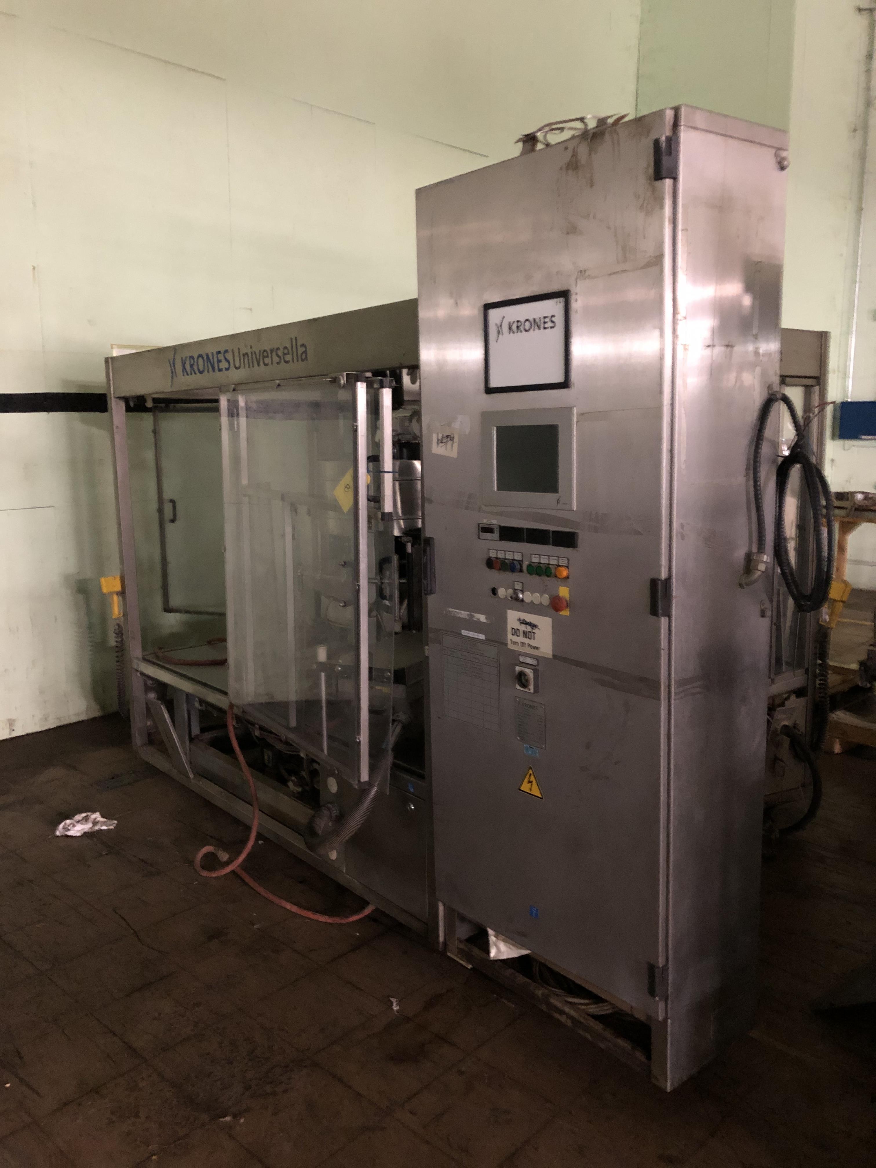 Krones Universella Labeler, Machine #723-E86, RIGGING FEE - $1750