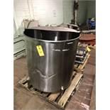 "Stainless Steel Tank, 38"" Diameter x 36"" Depth, RIGGING FEE - $50"