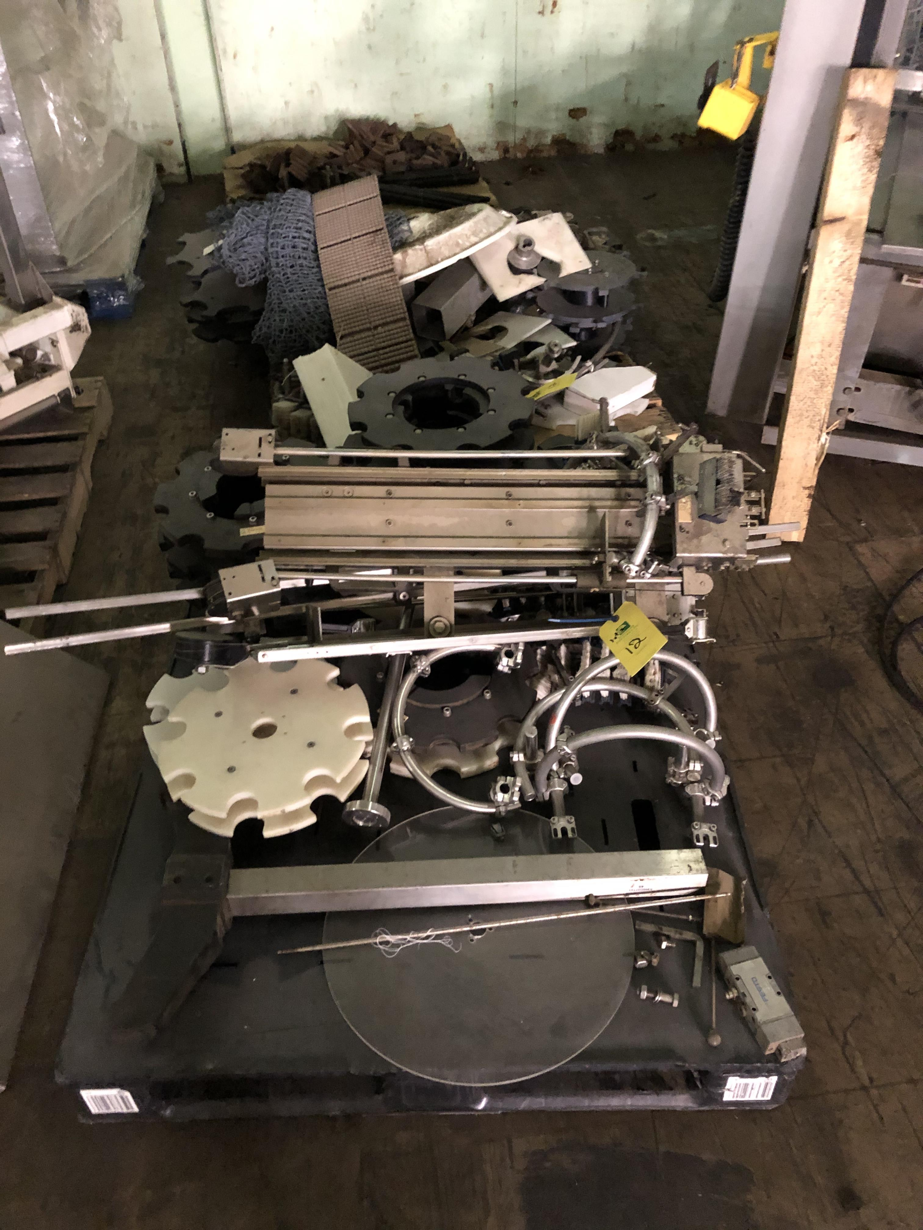Krones Labeler, Parts & Components, RIGGING FEE - $75