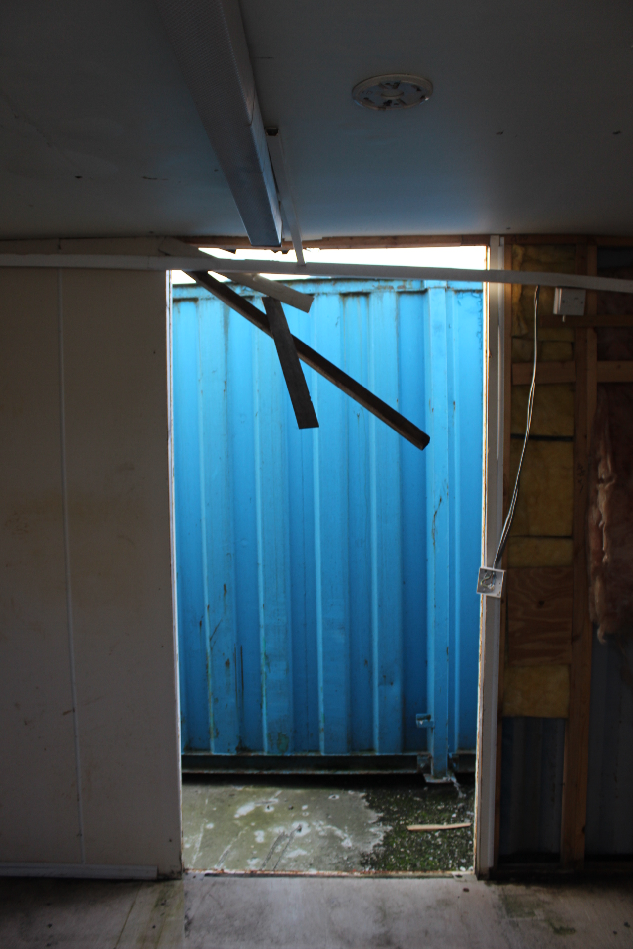 Esp14563 34 32ft x 10ft containerised jack leg linkway for 10ft by 10ft room