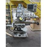 Milltronics 2-Axis CNC Vertical Mill Model Partner MB17, S/N 4366 (2012), Variable Speed, Power Draw