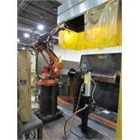 LOT: ABB Robot Welding Cell, with 5-Axis Welding Robot with Gun & Feed, Trunnion Style Double-Side 1
