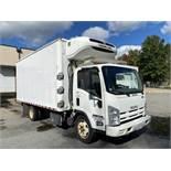 2015 Isuzu refrigerated truck