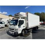 2014 Fuso refrigerated truck