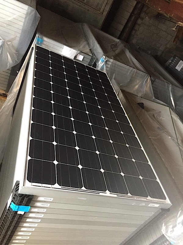 Lot 12 - LOT OF (5) 320 WATT SOLAR PANELS - (BIDDING IS PER PANEL MULTIPLIED BY 5)