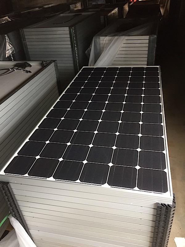 Lot 33 - LOT OF (20) 315 WATT SOLAR PANELS - (BIDDING IS PER PANEL MULTIPLIED BY 20)