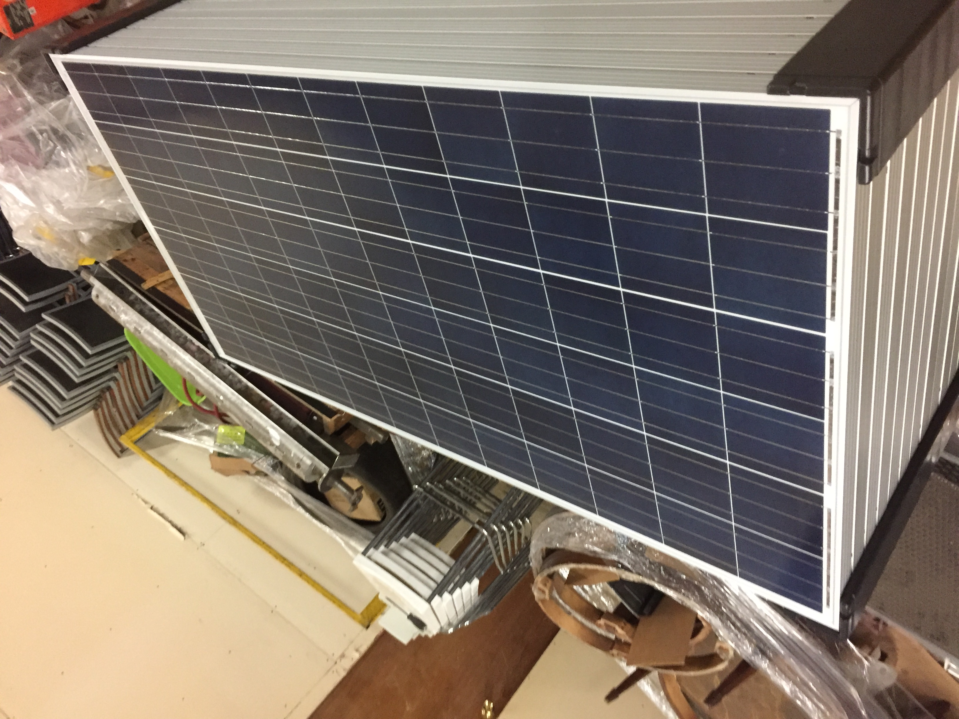 Lot 45 - LOT OF (5) 295 WATT SOLAR PANELS - (BIDDING IS PER PANEL MULTIPLIED BY 5)