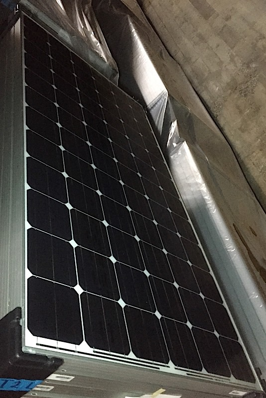 Lot 20 - LOT OF (20) 320 WATT SOLAR PANELS - (BIDDING IS PER PANEL MULTIPLIED BY 20)