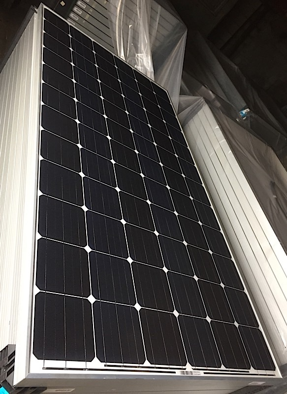 Lot 2 - LOT OF (5) 325 WATT SOLAR PANELS - (BIDDING IS PER PANEL MULTIPLIED BY 5)