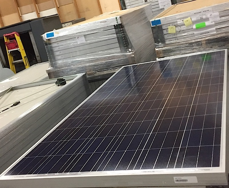 Lot 36 - LOT OF (5) 300 WATT SOLAR PANELS - (BIDDING IS PER PANEL MULTIPLIED BY 5)