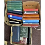 An Accumulation in three cartons with 30+ Albums and Stock books including World; Great Britain;
