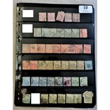 Cape of Good Hope 1882-1904-Used Selection, plus revenue stamps and pre-paid stationary.