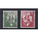 Germany 1952 Youth Hostels Fund set SG1080/1 used Cat £54