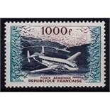France 1954 1000fr Air SG 1197 BR763 Provence Transport Aeroplane Cat 160 lightly mounted mint