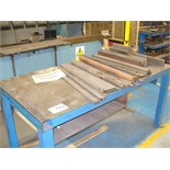 "Press brake TOOLING for Kingsland Pressbrake and 35"" x 66"" metal table"