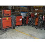 12 various WELDING UNITS for SPARE AND REPAIR