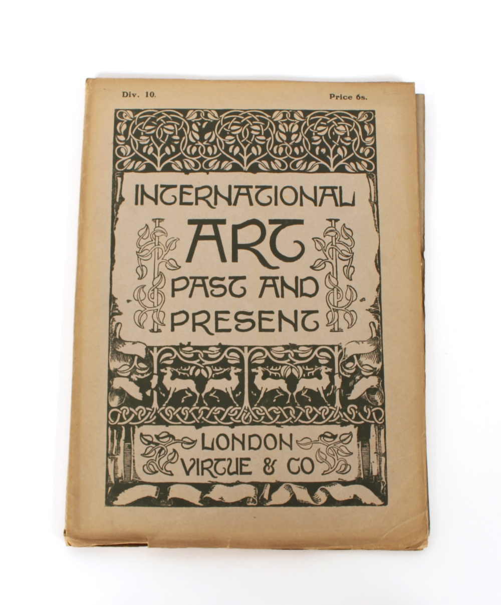 Lot 47 - Four volumes, Art Past and Present magazines