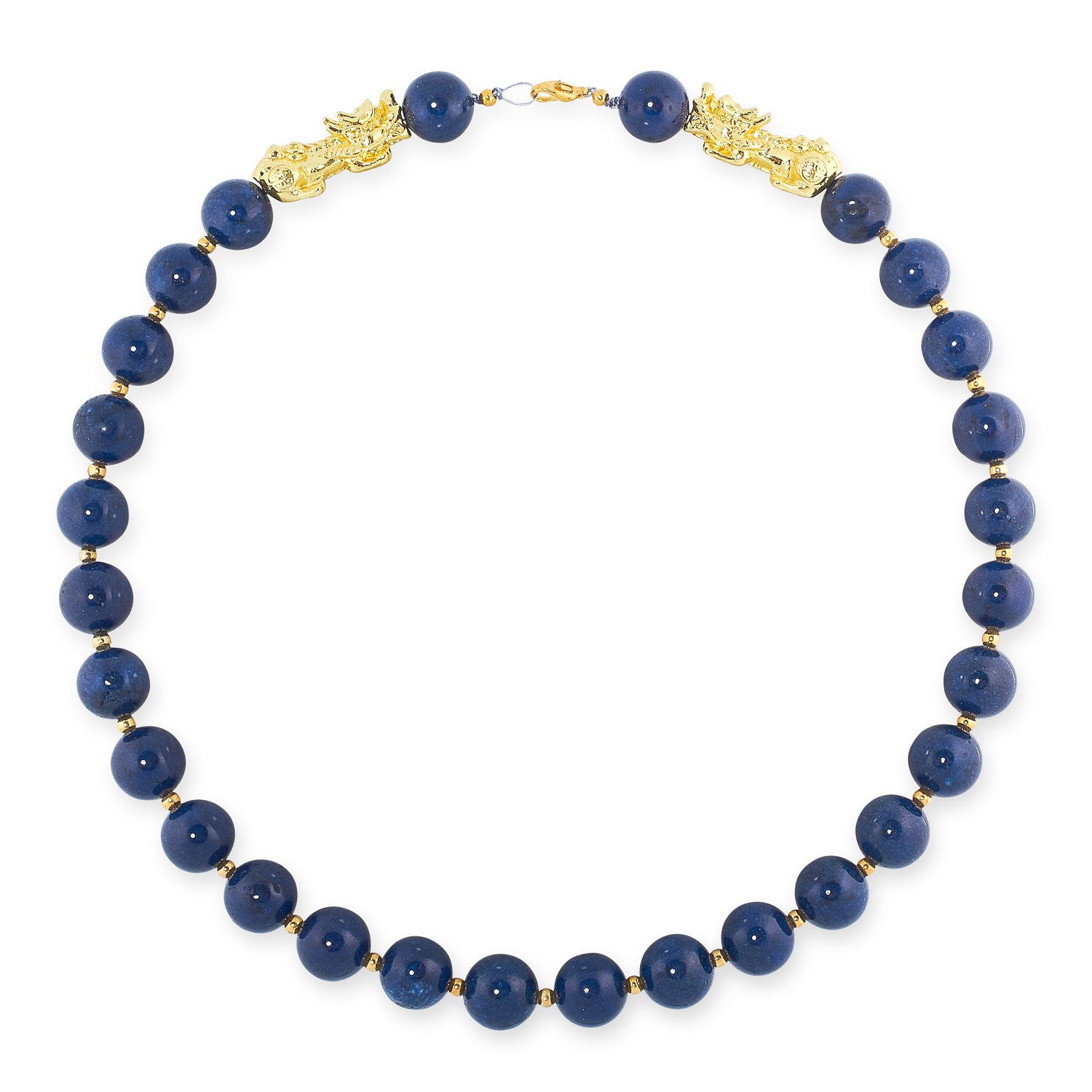 A MIXED LOT OF GEMSTONE BEAD NECKLACES, EARRINGS AND BRACELETS including jade, emerald, lapis - Image 9 of 13