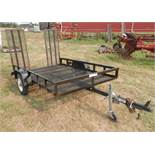TRAIL BOSS 5 1/2' x 8' SINGLE AXLE TRAILER