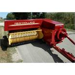 FORD NH 316 CHUTE BALER