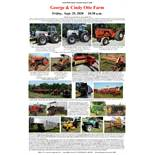 Tractors, Antique Farm Equipment, More