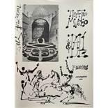 Salvador Dalí (Figueres, 1904 - 1989) Salvador Dalí (Figueres, 1904 - 1989) Felt-tip drawing. Signed