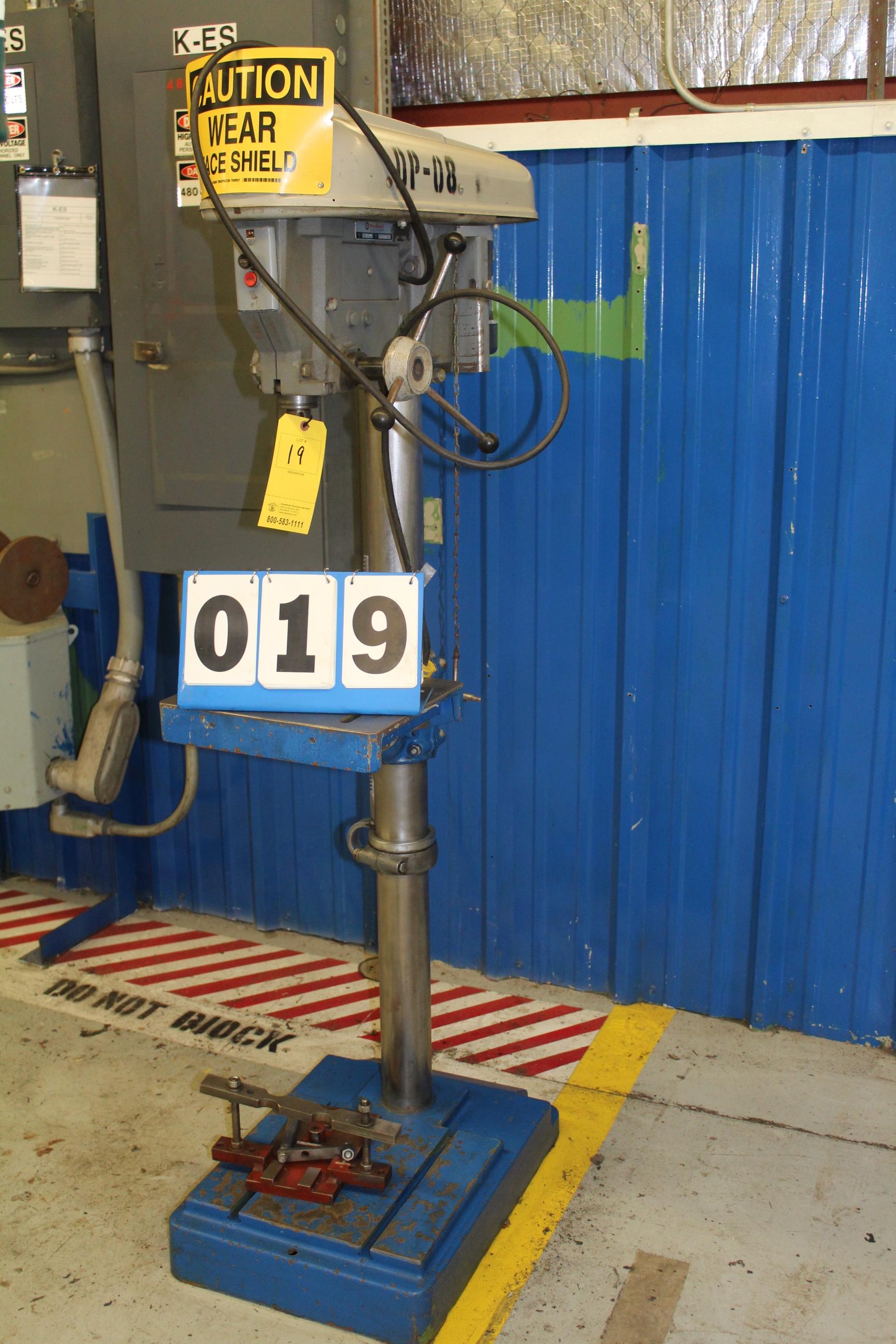 Lot 19 - DELTA ROCKWELL DRILL PRESS, MDL:17-600
