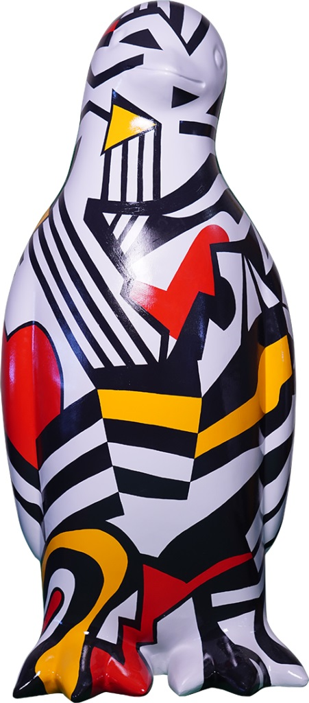 Lot 23 - Dazzle Penguin - by Artists: Islay Spalding