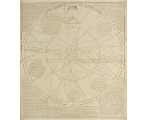 Celestial Charts. Senex (John), A Scheme of the Solar System with the Orbits of the Planets and Comets belonging thereto, des