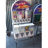 "6 SELECT STICKER 4-1"" CAPSULE COMBO RACK"
