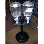 2 HEAD BULK CANDY SNACK NUTS STAND