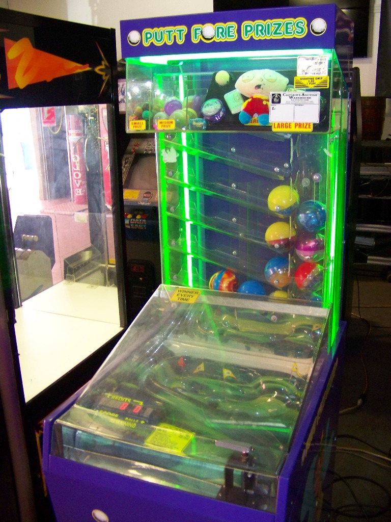 Lot 8A - PUTT FORE PRIZES INSTANT REDEMPTION GAME OK MFG.