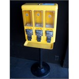 TRI SELECT CANDY VENDING STAND YELLOW